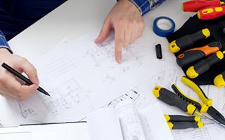 電気工事士による安心工事 イメージ写真